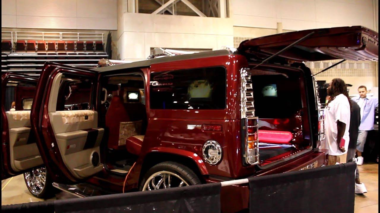 Hummer H2 on 30 s OC Car Show 2011