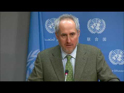 ICP Asks UN Spox of Countries Banned from Voting, How Much UN Spends, No Press Due Process, Bdi,