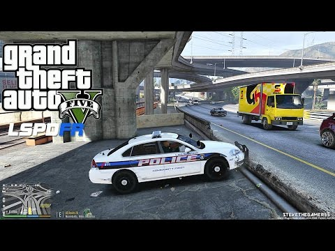 GTA 5 LSPDFR  - BY THE BOOKS - EP 1 (GTA 5 LSPDFR PC POLICE MODS) 4K