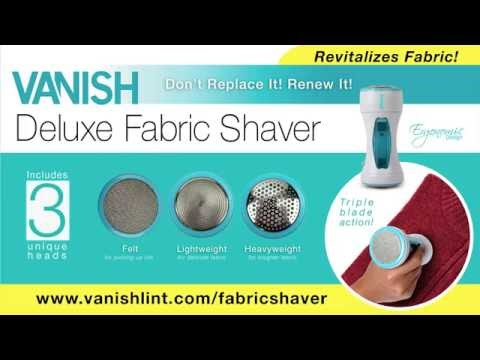 Vanish Fabric Shaver Demo 720p HD