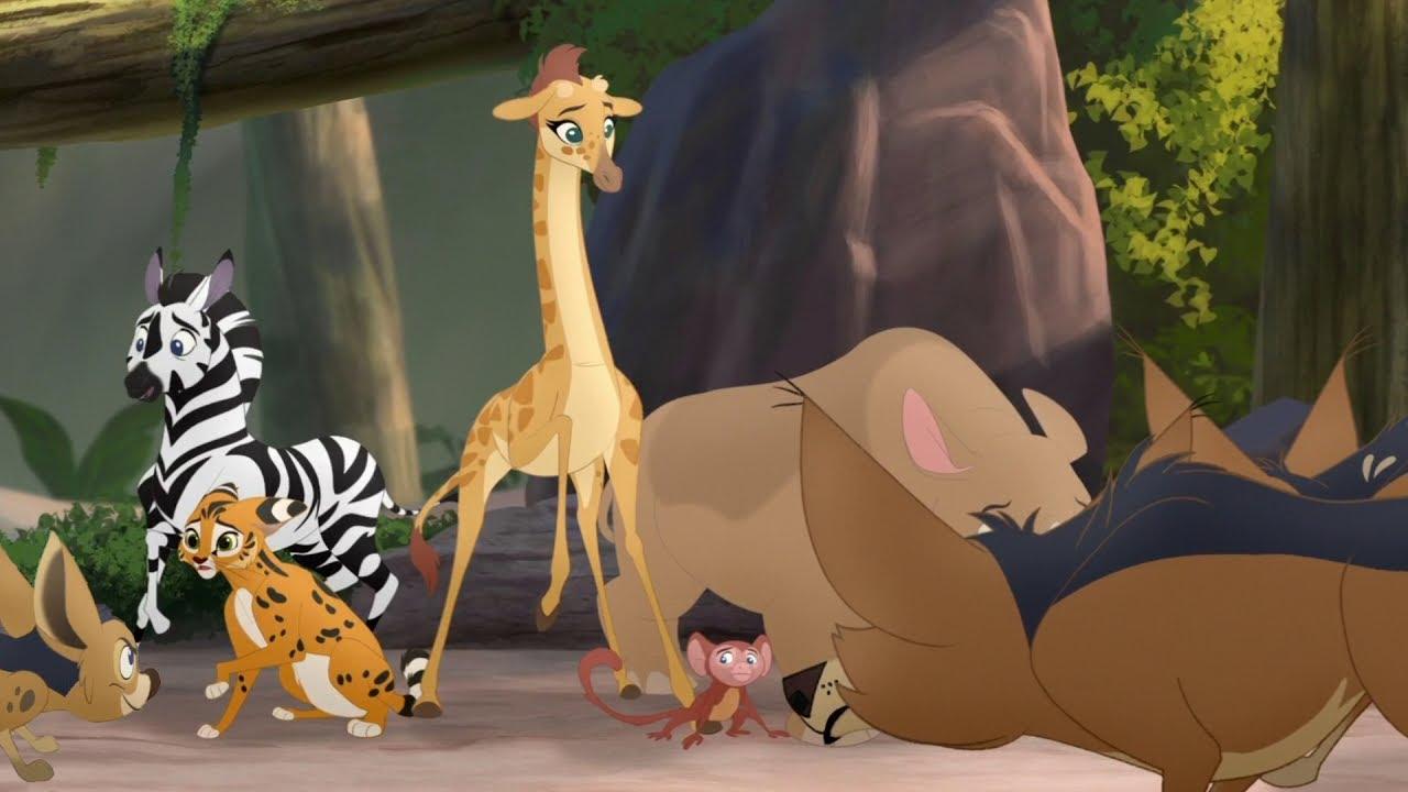 Lion Guard The Jackals Strike Again Babysitter Bunga Hd