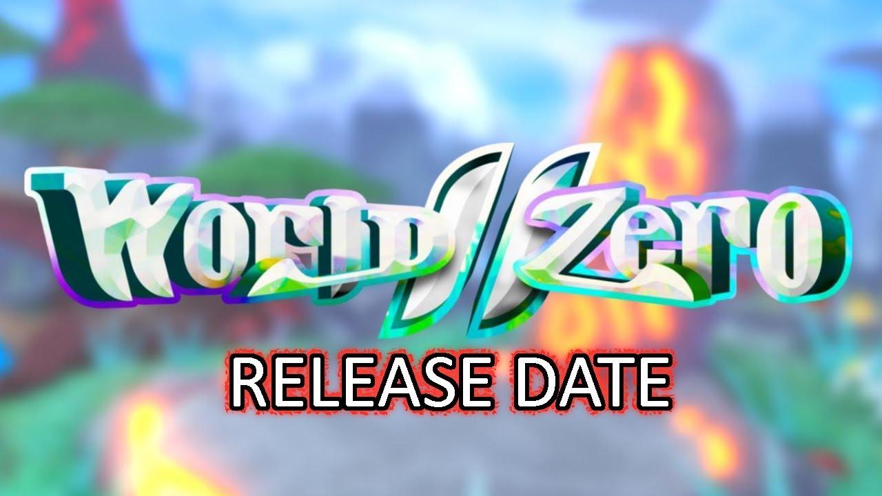 World Zero Is Officially Releasing Today Swordburst 3 Roblox