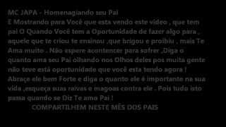 MC JAPA - PAI (2012) (O ORIGINAL)