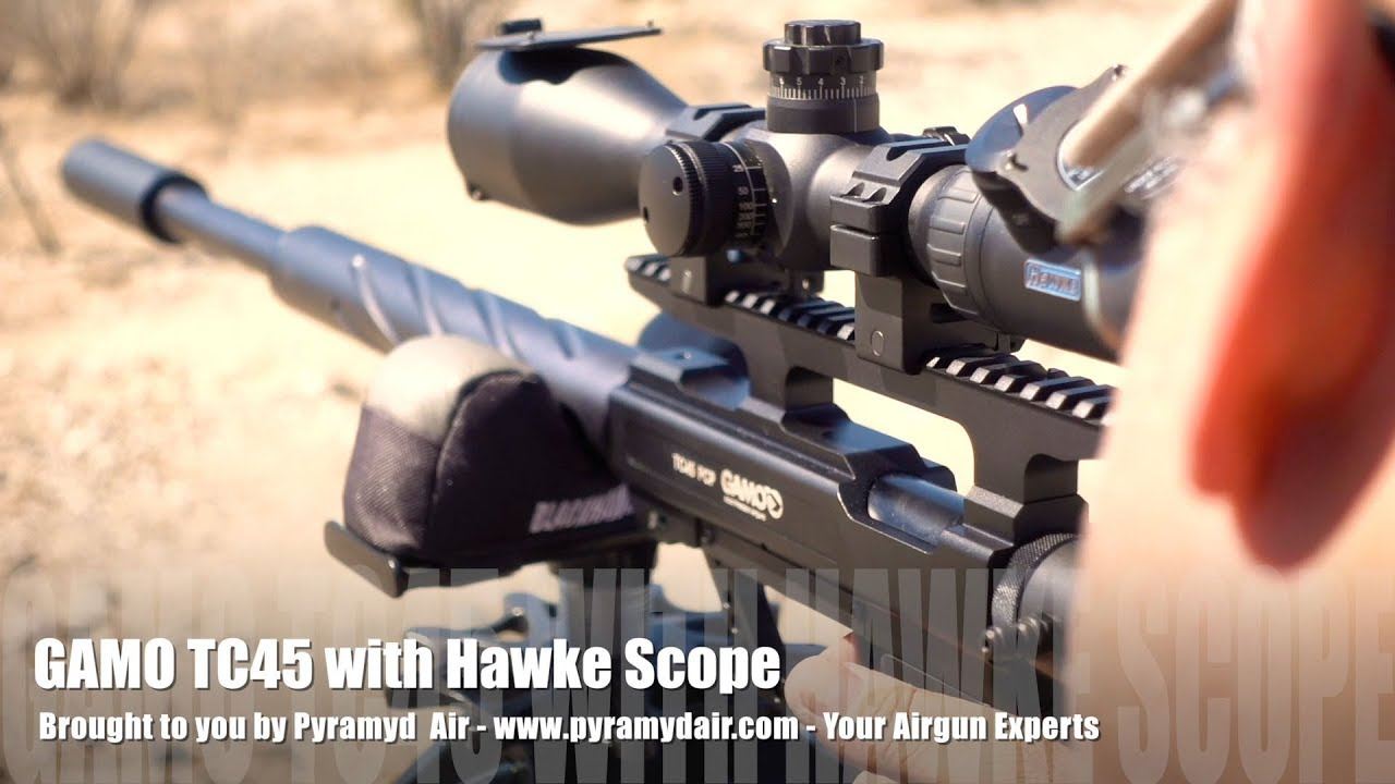 Gamo goes BIG with their 400+ FPE  45 cal Big Bore PCP the Gamo TC45! -  Review by AirgunWeb