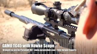 Gamo goes BIG with their 400+ FPE .45 cal Big Bore PCP the Gamo TC45! - Review by AirgunWeb