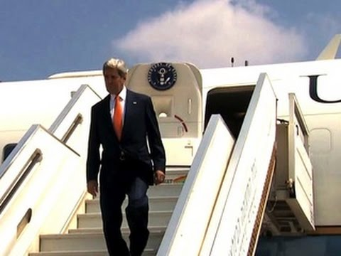 John Kerry arrives in Israel seeking Gaza cease-fire