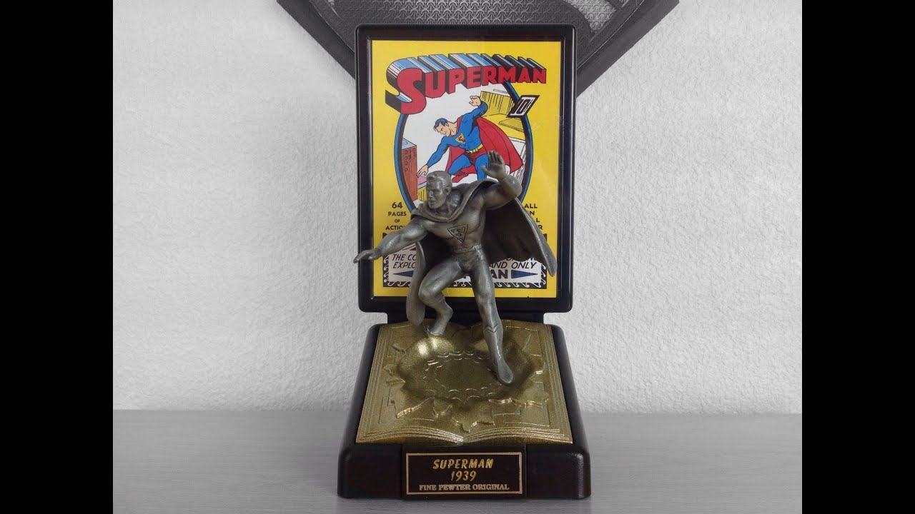 Marvel and DC Limited Edition Comic Book Champions Pewter Figures