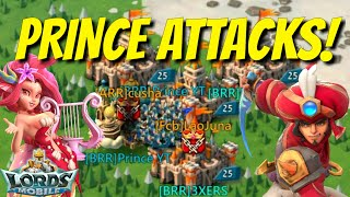 Worthy Prince Attacks! - Lords Mobile