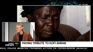 Paying tribute to Kofi Annan