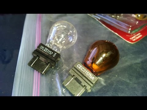 Corvette turn signal and drl daytime running lights bulb by froggy