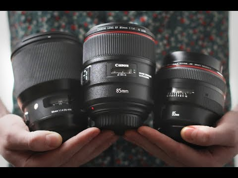 Canon 85mm 1.4L IS vs Canon 85mm 1.2L II vs Sigma 85mm Art