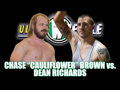 "Chase ""Cauliflower"" Brown vs. Dean Richards (Ultra Wrestle; 1-31-2015)"
