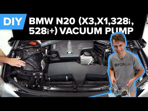 BMW N20 Vacuum Pump & Boost Solenoid Replacement DIY (X3, X1, Z4, 328i, 528i, 320i & More!)