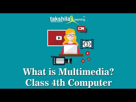 CBSE Class 4 Computer | Introduction to multimedia | NCERT Solution | CBSE Syllabus | ICSE