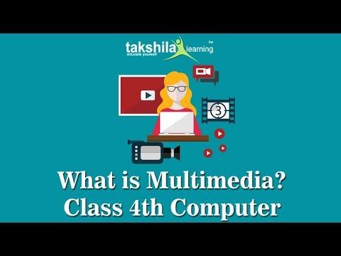 CBSE Class 4 Computer | Introduction to multimedia | NCERT Solution | CBSE Syllabus | ICSE