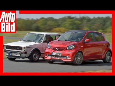 Smart Brabus vs VW Golf 1 GTI (2016) Vergleich/Test/Review