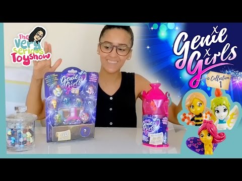 Genie in a bottle - so magical, make a wish! Genie Girls! | Toy Unboxing for Kids