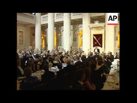UK: LONDON: ARGENTINIAN PRESIDENT MENEM VISIT