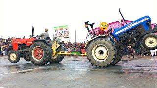 😳ट्रैक्टर प्लटा दिया होता New Holland 3630 vs Swaraj 855 tractor tochan in haryana
