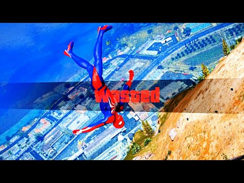 GTA 5 Epic Wasted Compilation SpiderMan Flooded Los Santos ep.59 (Funny Moments)