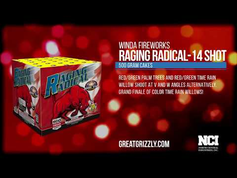 Raging Radical (500 GRAM CAKES) WWW. GREAT GRIZZLY .COM