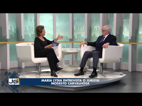 Maria Lydia entrevista o jurista Modesto Carvalhosa