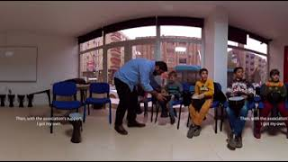 The Life of a Refugee Familiy Living in Mardin - 360 film