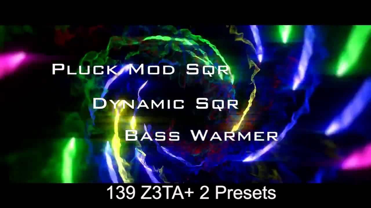 Z3TA+2 Synth Presets