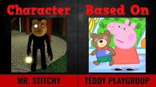 Piggy Skins vs Peppa Pig Characters UPDATED PIGGY 2 CHAPTER 3!