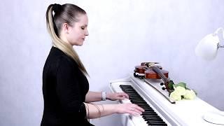 """Юрий Шатунов группа """"Ласковый май"""" - Белые розы (Кавер на скрипке и фортепиано)"""