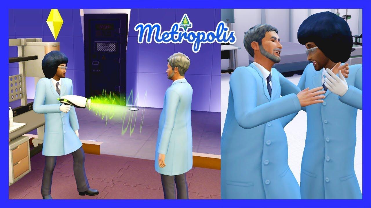 The Sims 4 Metropolis - Mind Control