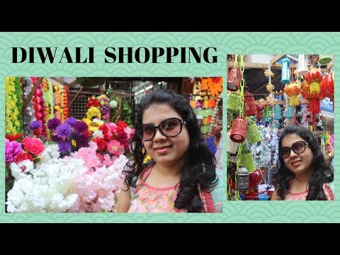 DIWALI SHOPPING | Crawford Market Mumbai
