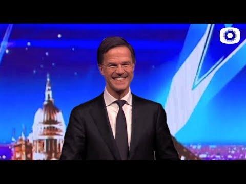 Rutte bij Britain's Got Talent * BlendTV