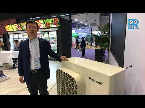Panasonic exhibits transcritical CO2 unit at ChinaShop 2017