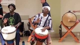 "mamady keita and bolokada condé quebec 2012 PLAY ""MISHIMA"" (solo improv by two great master)"