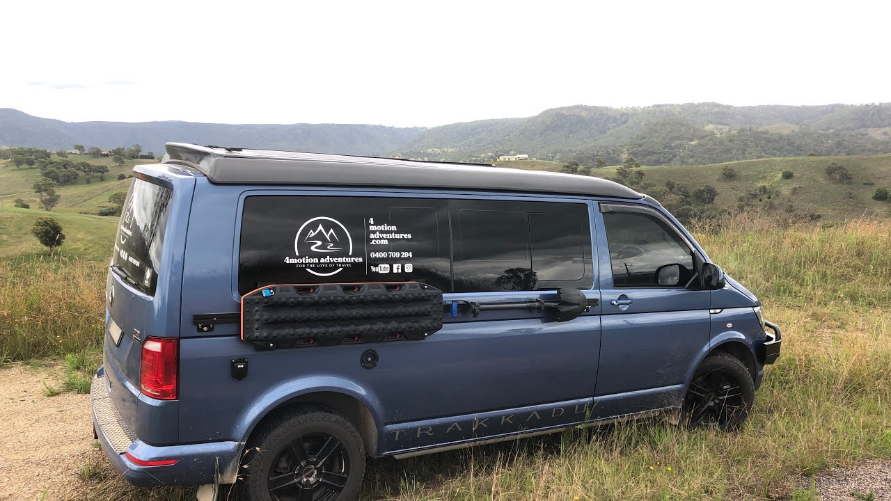 VW 4motion Campervan explores the Cox's River - YouTube