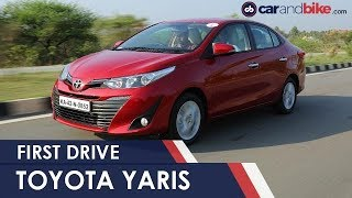 2018 New Toyota Yaris First Drive Review | NDTV...