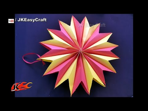 DIY Paper Lantern | Paper Decoration | JK Easy Craft 245