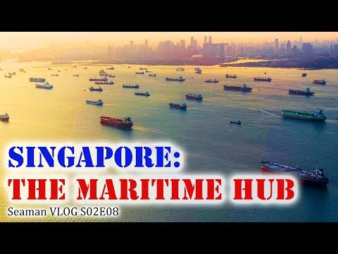 A Busy Day at the Maritime Hub of Singapore | Seaman Vlog