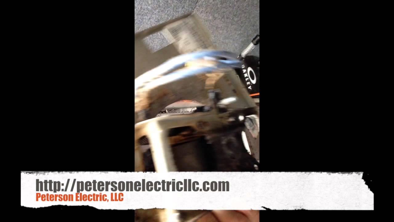 A Bathroom Exhaust Fan Or Vent Fan Motor Caught Fire In A ...