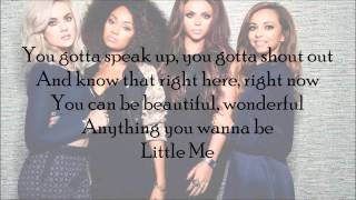 Little Mix - Little Me (with Lyrics)