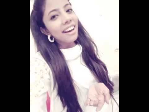 Sana Zulfiqar singing