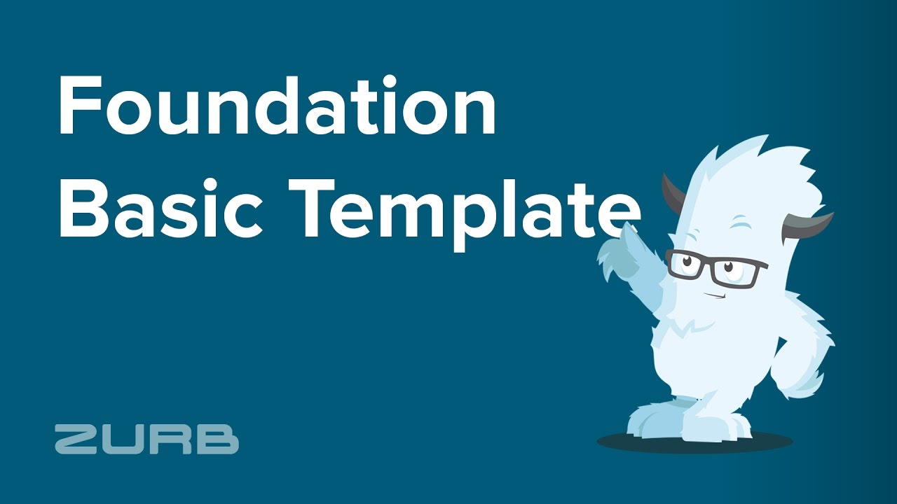 foundation template
