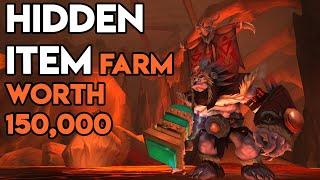 World Of Warcraft Hidden Gold Farm Worth 150,000 Gold
