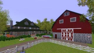 The Sims 3 - Building Paradise Ranch