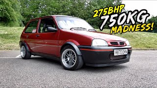 THIS INSANE 750KG 1.8L TURBO SWAPPED METRO IS SCARY FAST!