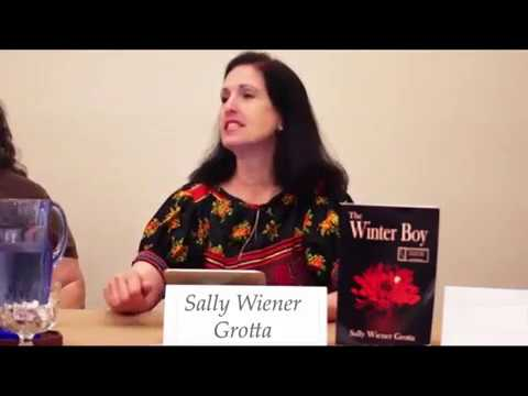 Sally's first reading from her novel