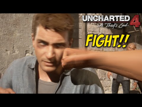 GETTING MY ASS WHOOPED IN JAIL! [UNCHARTED 4] [GAMEPLAY!] [#