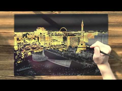 Cityscape Scratch Art is the Latest Hot Trend in South Korea