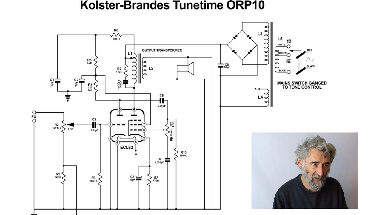 Valve Amplifier Study 002 Tunetime Orp10 Ecl82 Single